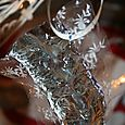 candy wrapper ornament
